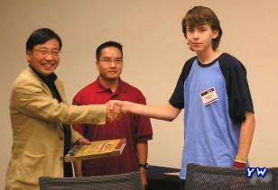 Top Yu-Gi-Oh Gamer Awarded Prize