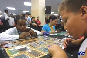 YuGiOh! TCG Players in Action